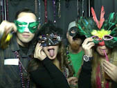 Pottmeyer's Mardi Gras Photo Booth Pictures